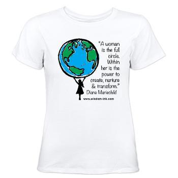 WIBWS Plain White Women's T-Shirt